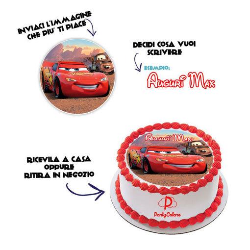 Immagine di Cialda per Torta in Ostia o Zucchero - Personalizzabile