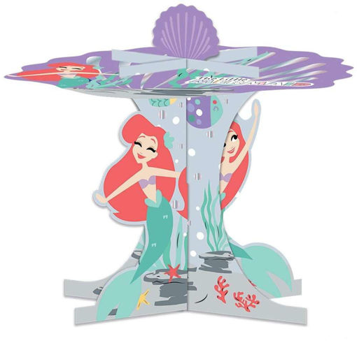 Partycolare - Giocheria- Alzatina 3D per Cupcakes Ariel la ...