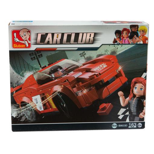 Immagine di Sluban Car Club Costruzioni Auto Rossa 163 pezzi