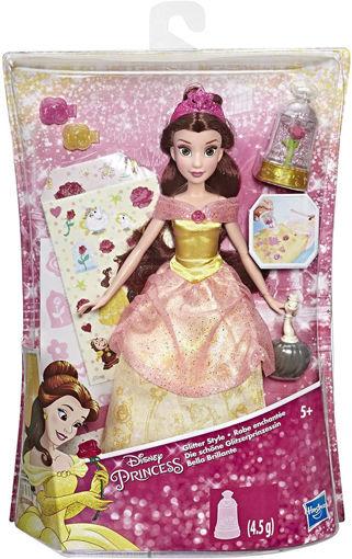Immagine di Bambola Disney Principessa Bella Glitter