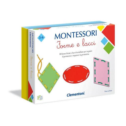 Immagine di Clementoni Montessori Forme e Lacci