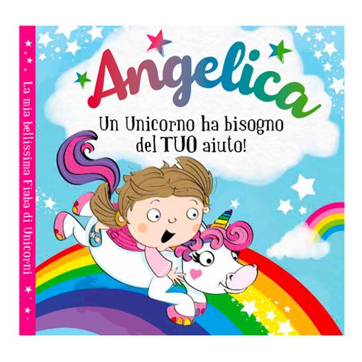 Immagine di Libro fiaba personalizzata - Angelica