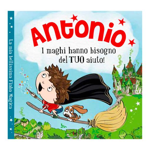 Immagine di Libro fiaba personalizzata - Antonio
