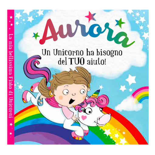 Immagine di Libro fiaba personalizzata - Aurora