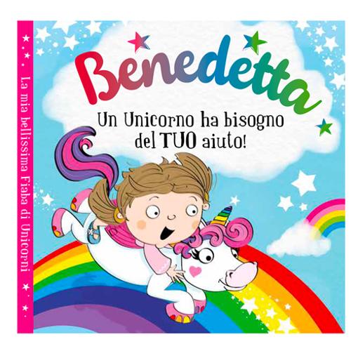 Immagine di Libro fiaba personalizzata - Benedetta