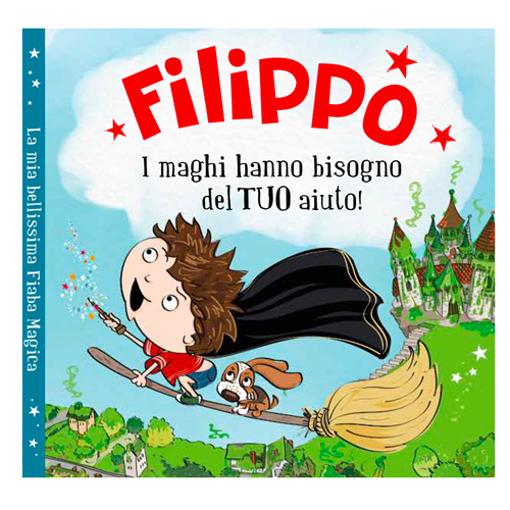 Immagine di Libro fiaba personalizzata - Filippo