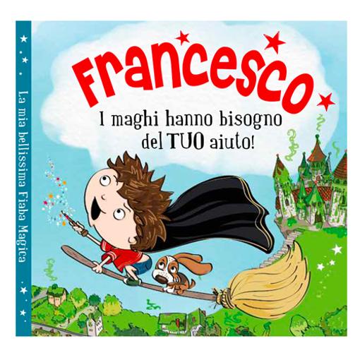 Immagine di Libro fiaba personalizzata - Francesco