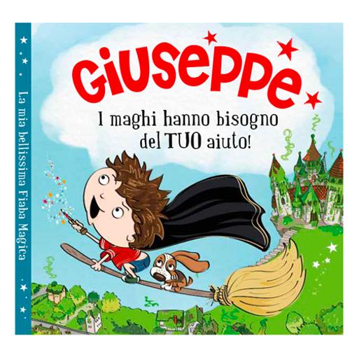 Immagine di Libro fiaba personalizzata - Giuseppe