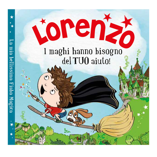 Immagine di Libro fiaba personalizzata - Lorenzo