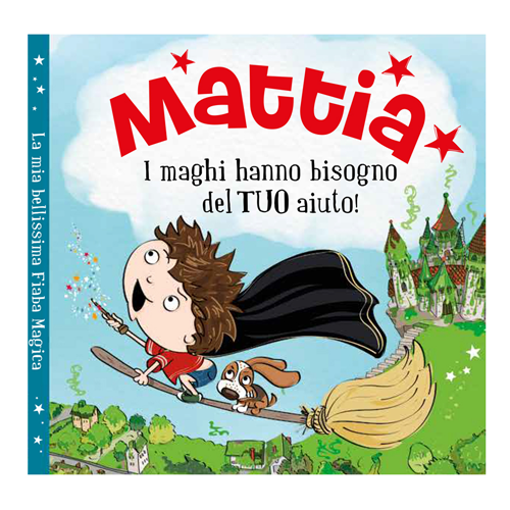Immagine di Libro fiaba personalizzata - Mattia