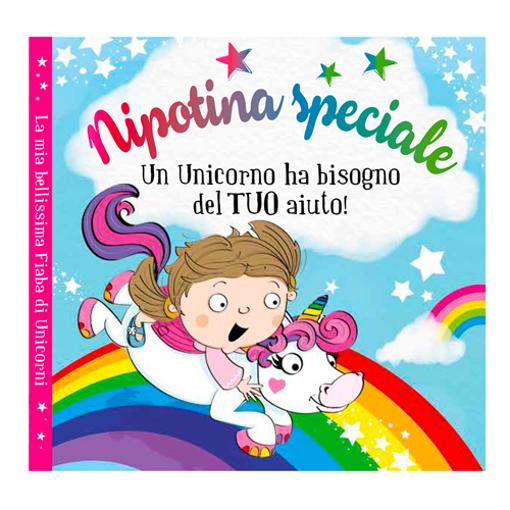 Immagine di Libro fiaba personalizzata - Nipotina speciale