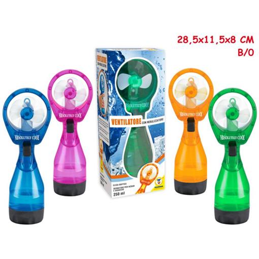 Ventilatore con Nebulizzatore a batterie