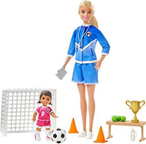 toys one Barbie Allenatrice di calcio