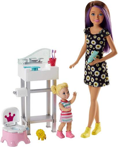 toys one Barbie Babysitter Lavandino e Vasino