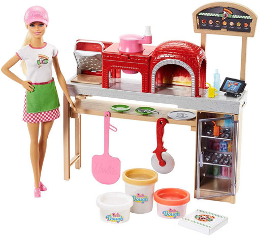 toys one Barbie pizza chef