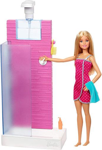 toys one Barbie playset Doccia