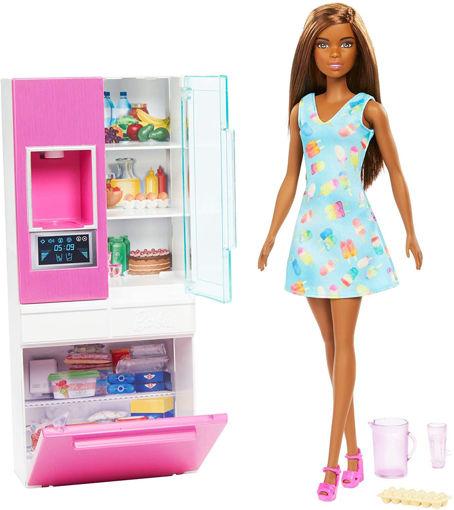 toys one Barbie playset Frigorifero
