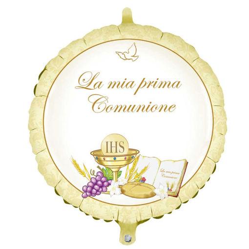 Palloncino Mylar 45 cm Prima Comunione