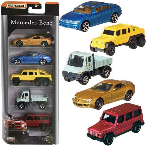 Pack 5 Mercedes die cast