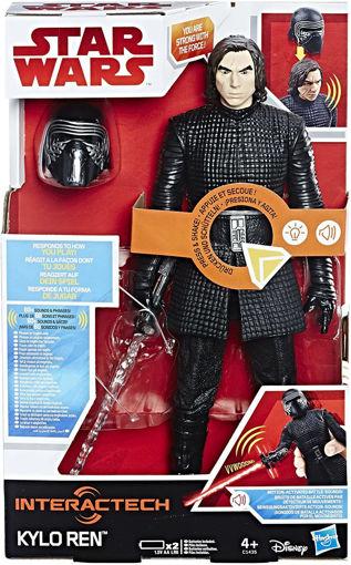Personaggio 30 cm Star Wars - Kylo Pupazzo Interattivo