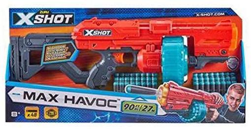 X-Shot Dart Blaster Excel Max Havoc