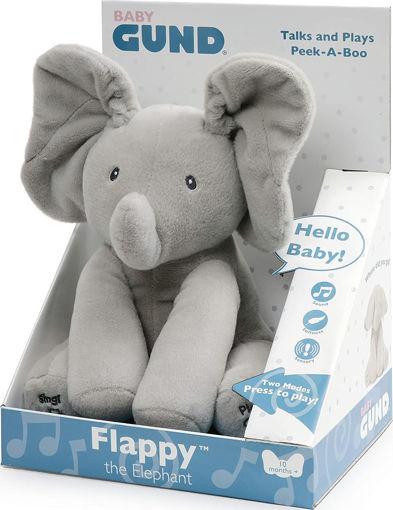 Gund Flappy Peluche Elefantino interattivo