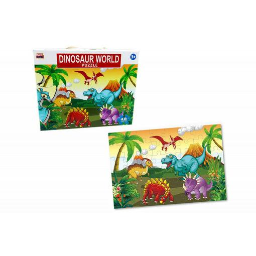 Puzzle gigante 48 pezzi Dinosauri