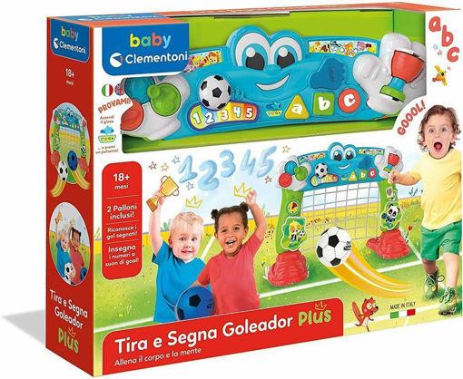 Tira e Segna Goleador Baby Clementoni