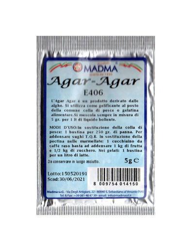 Immagine di Agar-Agar bustina da 5 grammi