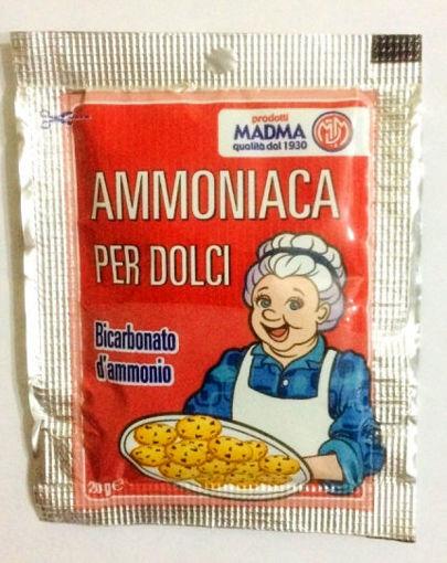Immagine di Ammoniaca per dolci bustina da 20 grammi