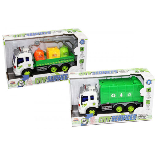 Camion ecologici luci suoni