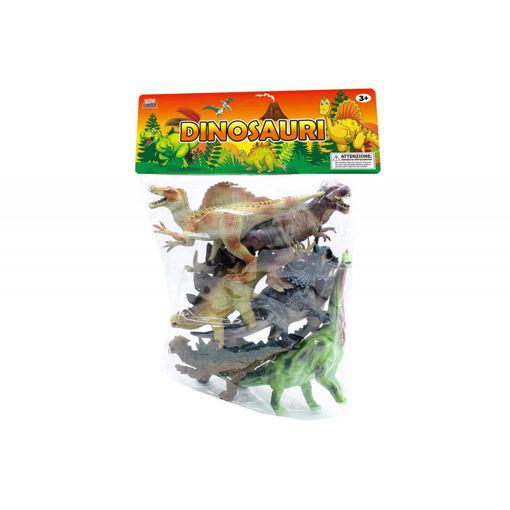 Dinosauri in busta gigante da 6 pezzi