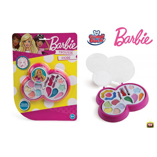 Trucchi Barbie trousse fiore