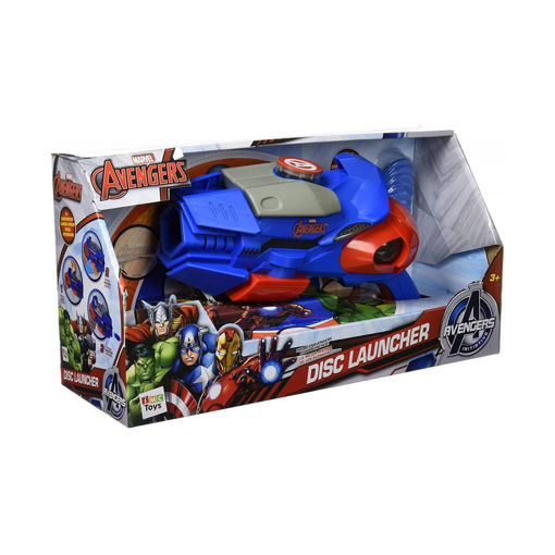 toys one Avengers disc launcher game