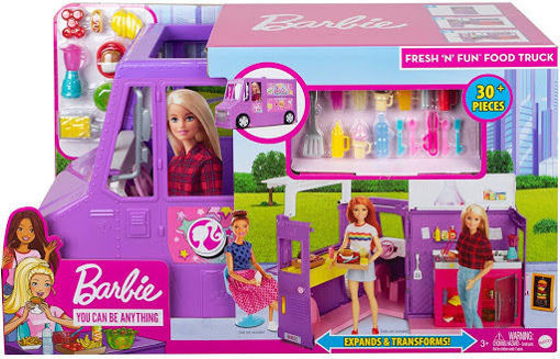 toys one Barbie Furgoncino Street Food