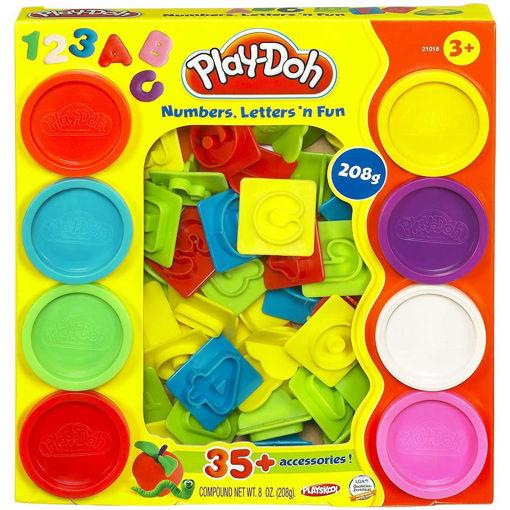 Playdoh numbers letters 'n fun