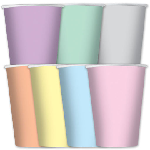 Bicchieri 200 cc Soft Rainbow 8 pezzi