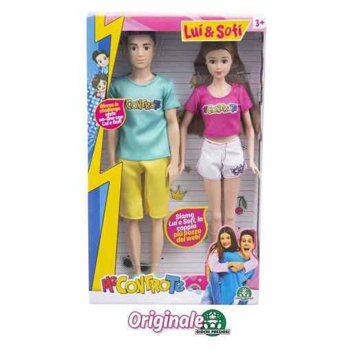 Bambola doppia Me Contro Te Lui e Sofì