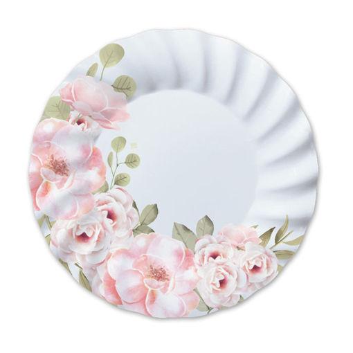 Piatti in carta 30 cm Floral 6 pezzi