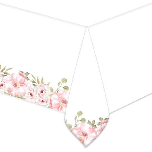 Tovaglia in plastica 140 x 270 cm Floral