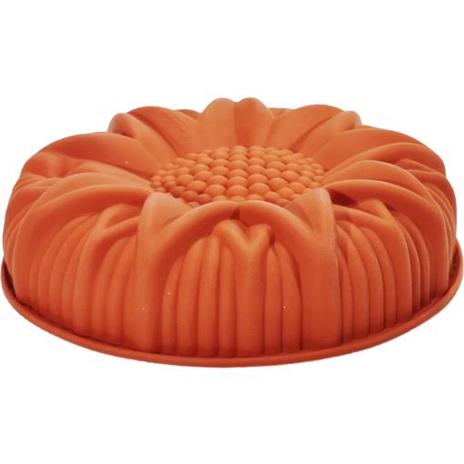 Stampo in Silicone a forma di girasole diametro 24 cm altezza 5 cm
