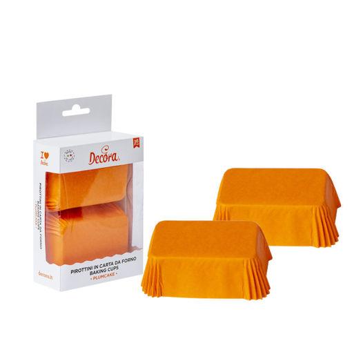 36 Pirottini Plum Cake 80x50x32 mm Arancioni