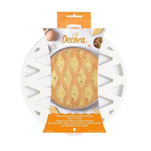 Griglia Tagliapasta per crostata e pastiera 30 cm