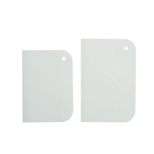 Set 2 Spatole 12x8,3 cm e 13,5x9,2 cm