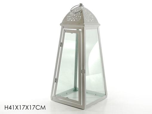 Lanterna Grande Bianca Lucida