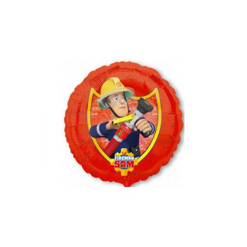 Palloncino Mylar 45 cm Sam il Pompiere