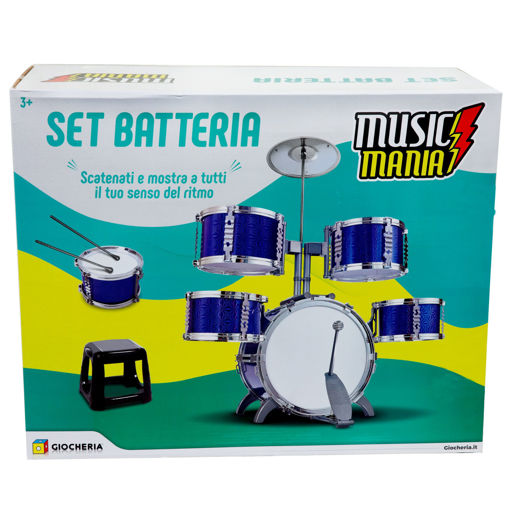 Batteria Professional 4 tamburi