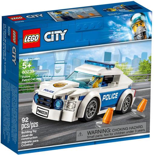 Lego City Auto di pattuglia della polizia
