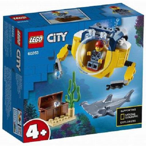 Lego City Mini Sottomarino Oceanico