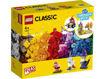 Lego Classic Mattoncini trasparenti creativi